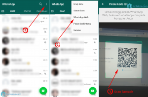 cara buka whatsapp web