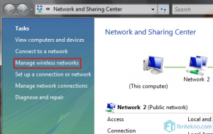 forget wifi di laptop windows 7 - manage wireless networks