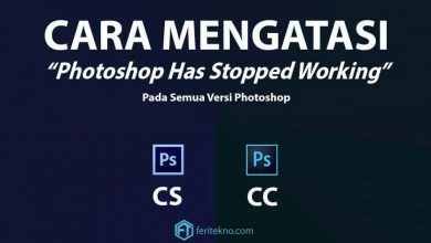 cara mengatasi photoshop has stopped working